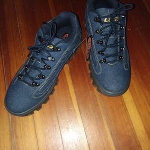 Lugz Men's Boots New sz 10.5,Blue Denim.